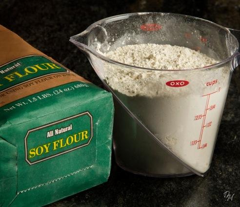 soy flour - use