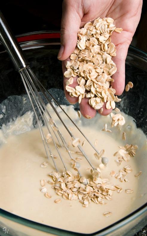 oatmeal into pancake