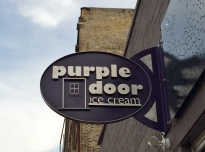 purple door sign 2